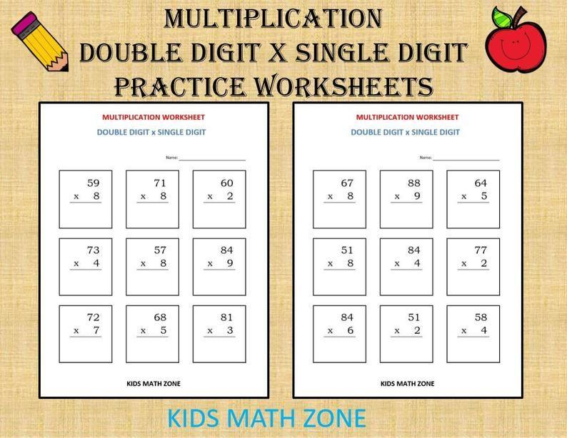 Multiplication Worksheets X4 7