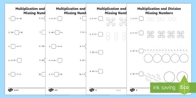 Multiplication Worksheets Year 10