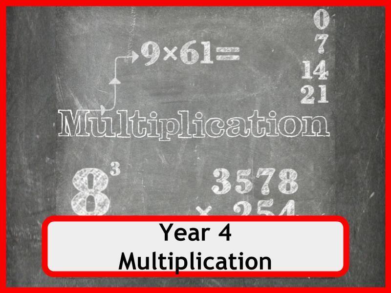 Multiplication Worksheets Year 4 Free