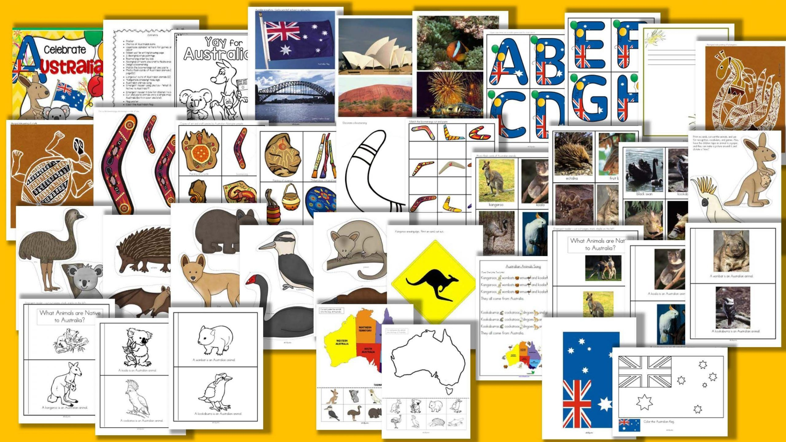 Preschool Worksheets Australia 4