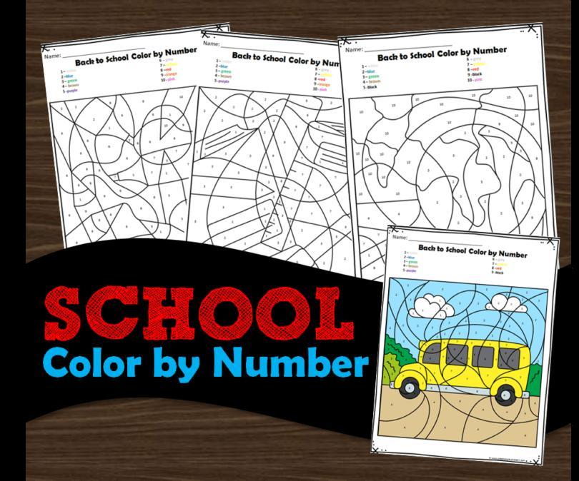 Back To School Preschool No Prep Worksheets & Activities