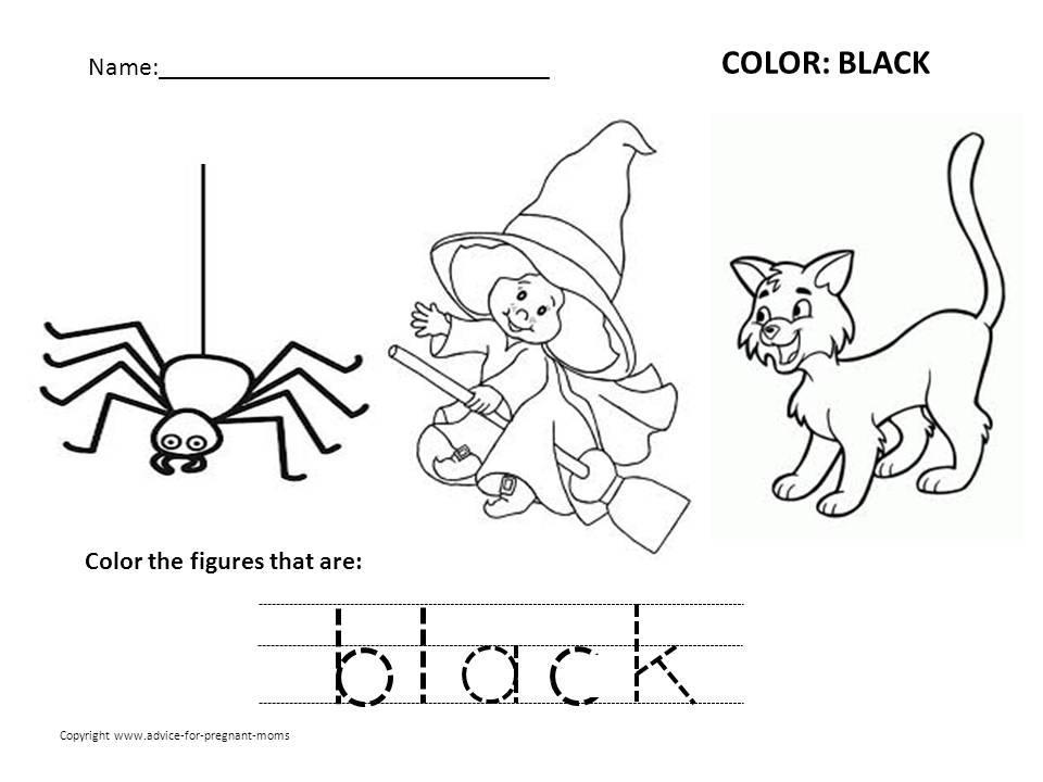 Free Printable Preschool Worksheets Colors