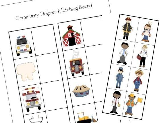 Jobs Preschool Worksheets 7