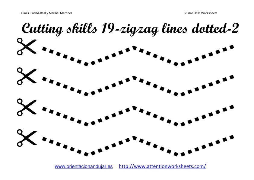 Preschool Christmas Cutting Worksheets
