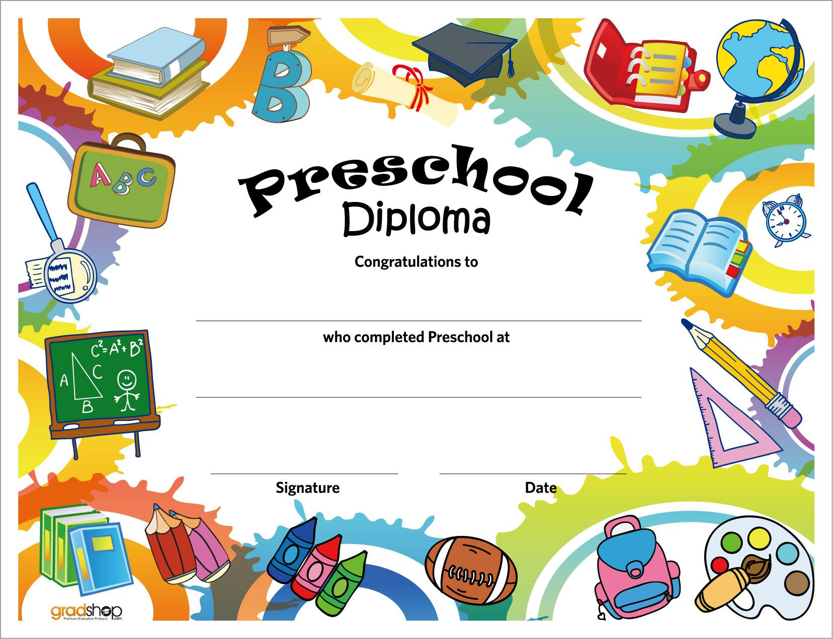 Preschool Graduation Worksheets 5