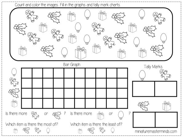 Preschool Graphing Worksheets 7