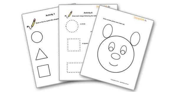 Preschool Maths For 5 Year Olds Worksheets