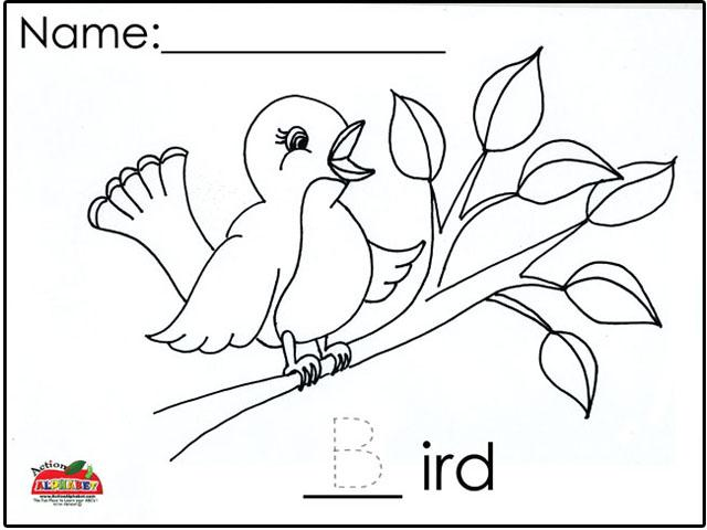 Preschool Worksheets Birds 5