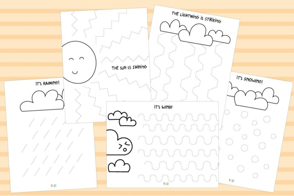 Preschool Worksheets Different Same 3