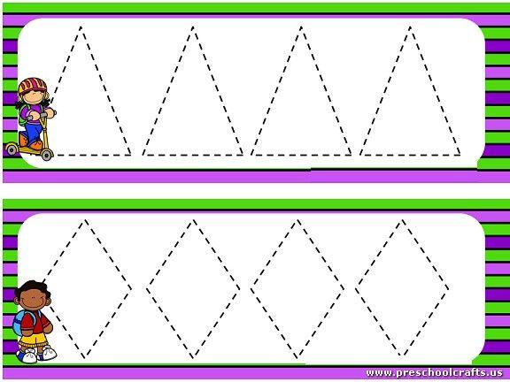 Preschool Worksheets Dotted Lines 6