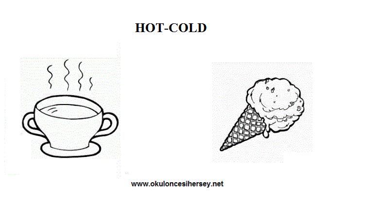 Preschool Worksheets Hot And Cold 6