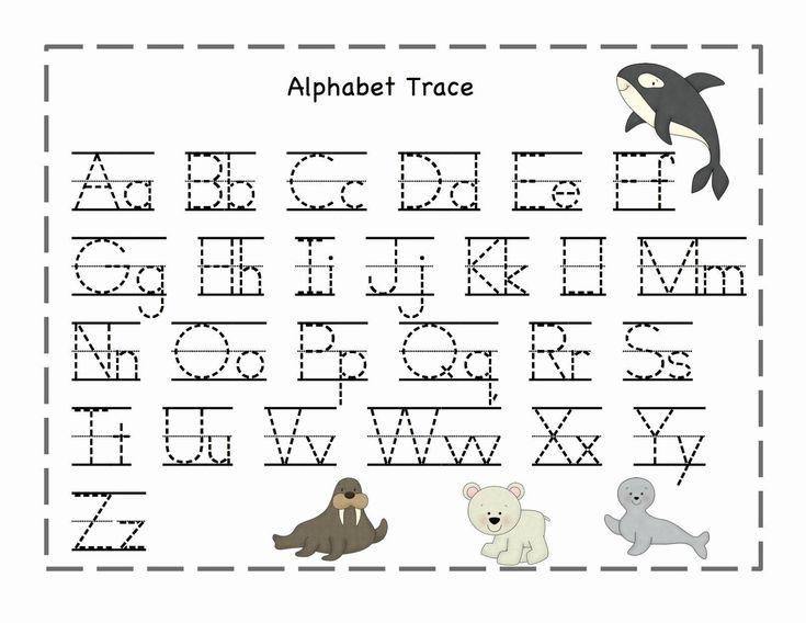 Free Printable Preschool Worksheets Tracing Letters A-z