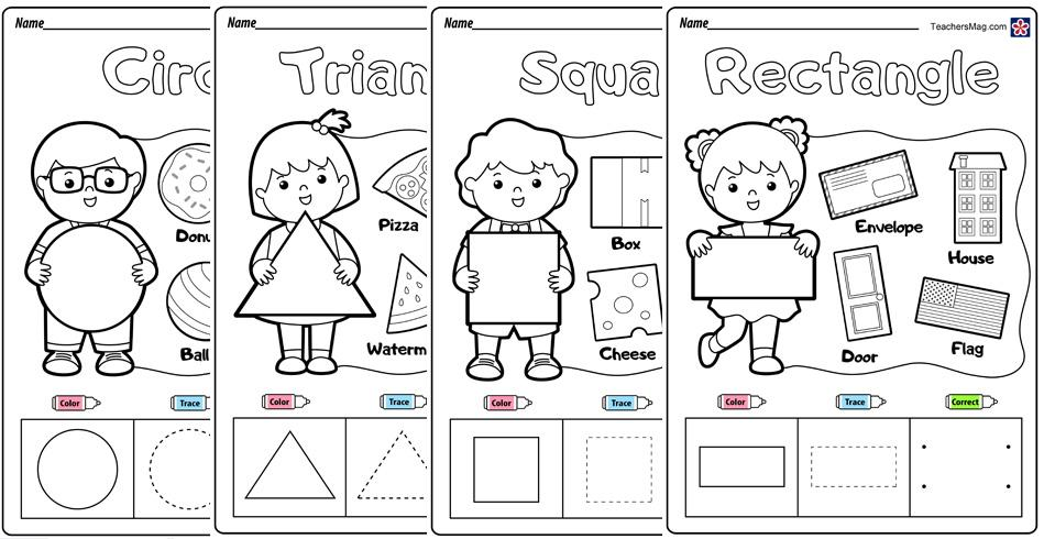 Preschool Printable Shapes