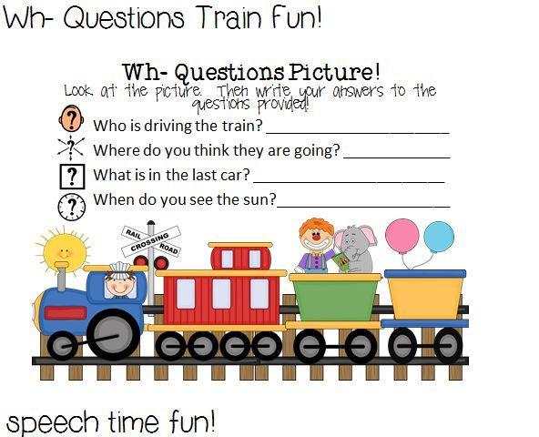 Preschool Wh Questions Worksheets 5