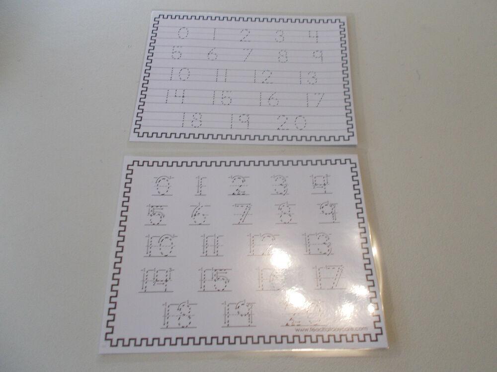 Preschool Worksheets Numbers 1-20 2