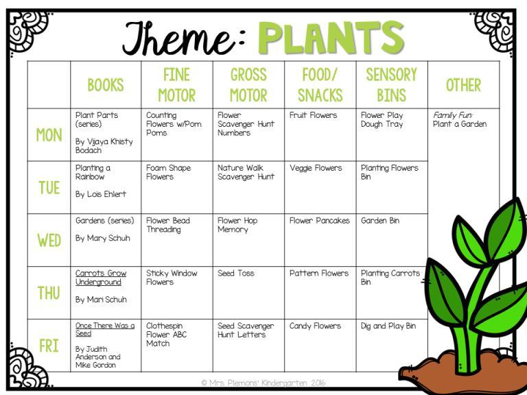 Preschool Worksheets On Plants 6