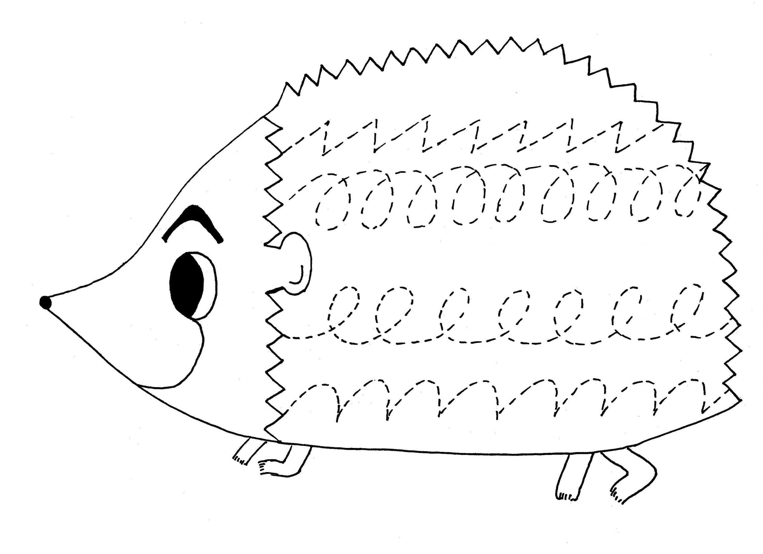 Preschool Worksheets Tracing 1