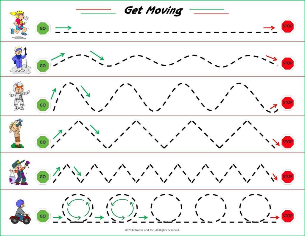 Preschool Worksheets Tracing Numbers