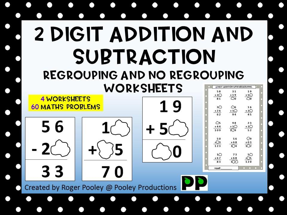Math Worksheets Addition With Regrouping 5