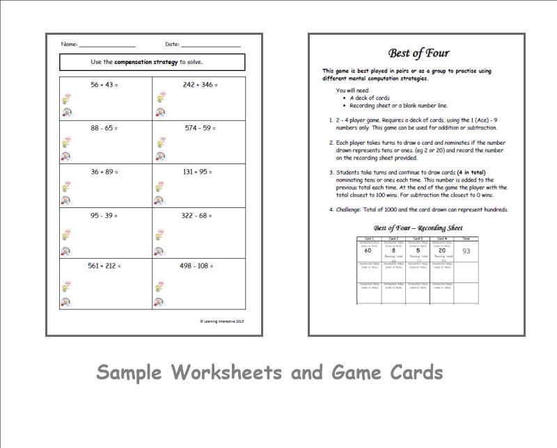 Math Worksheets Algebra 2 8