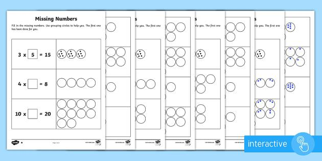 Math Worksheets By Topic 1