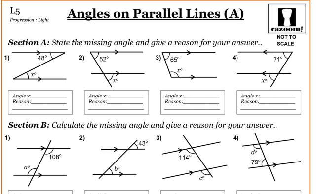 Math Worksheets Grade 7 14