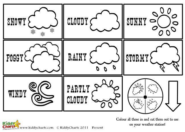 Preschool Printables Weather