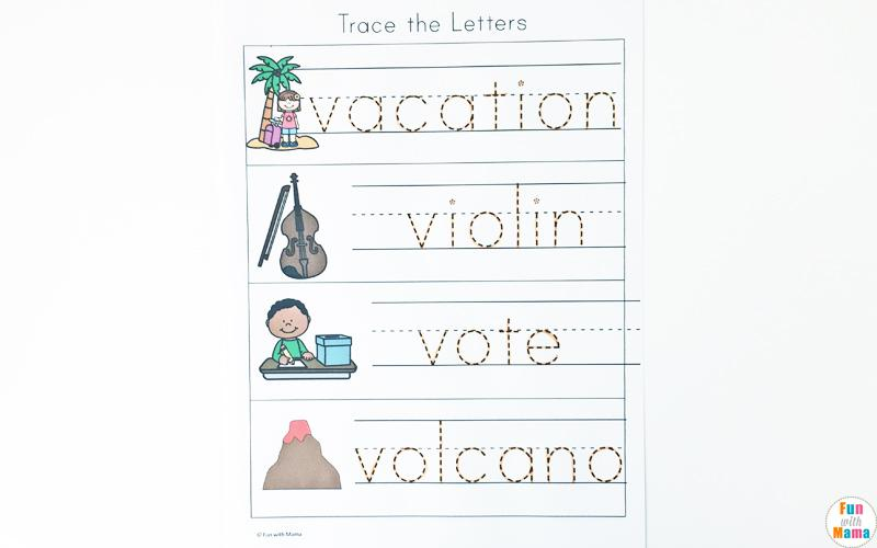 Preschool Volcano Worksheets 2