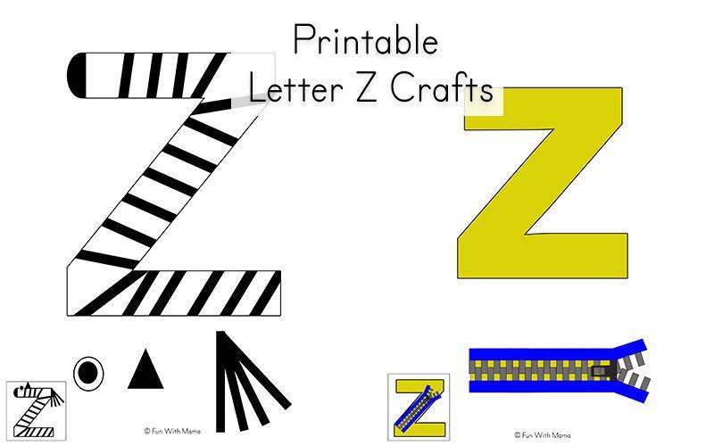 Preschool Worksheets Letter Z 1