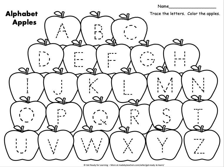 Preschool Worksheets Uppercase 3