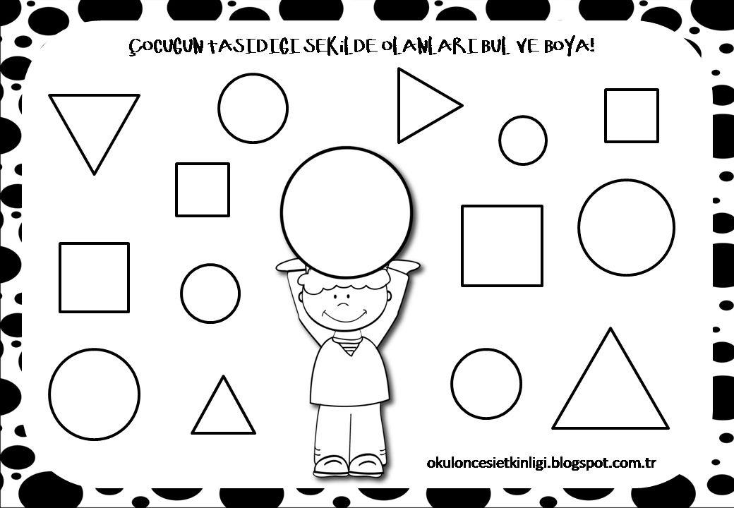 Preschool Worksheets Vk 5