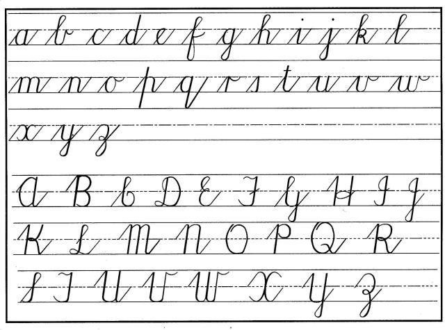Preschool Writing Worksheets A-z For Beginners 9