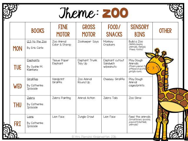 Preschool Zoo Worksheets 7
