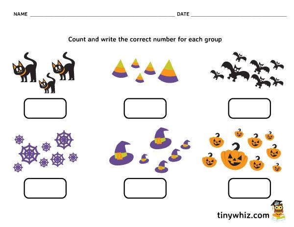 Free Printable Halloween Math Worksheets For 6th Grade