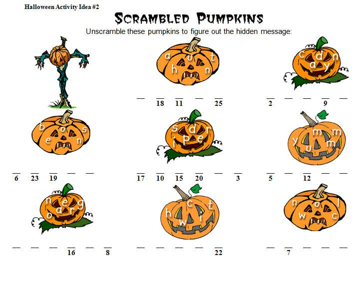 Free Printable Halloween Math Worksheets For Kindergarten