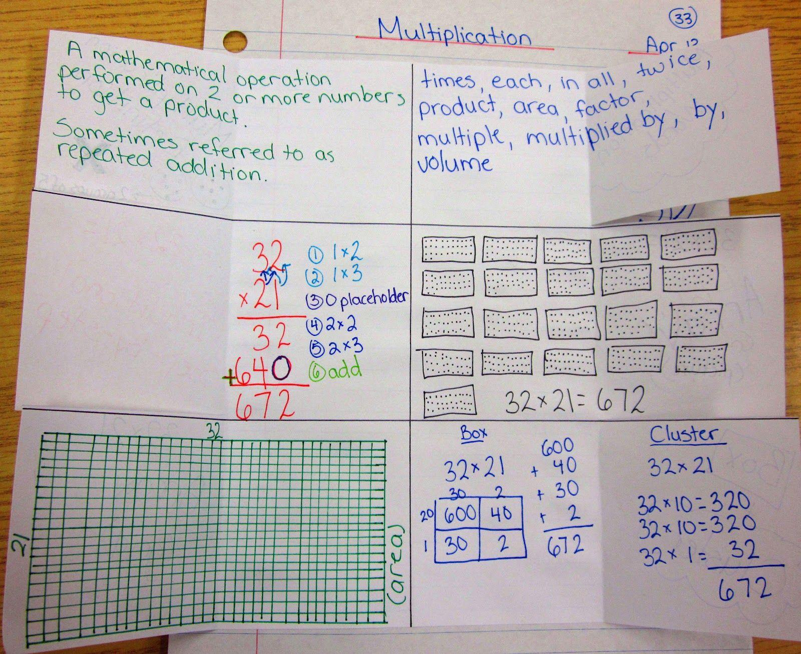 Math Journal Worksheets 8