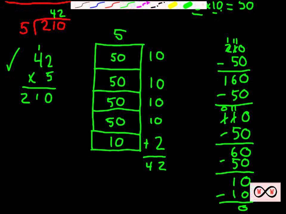 Math Worksheets Division 4th Grade 3