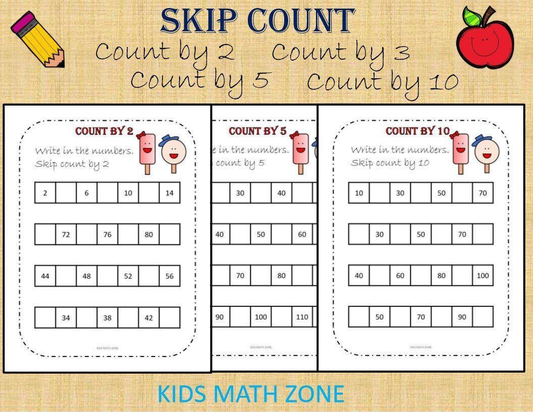 Math Worksheets For Jr Kg Students 8