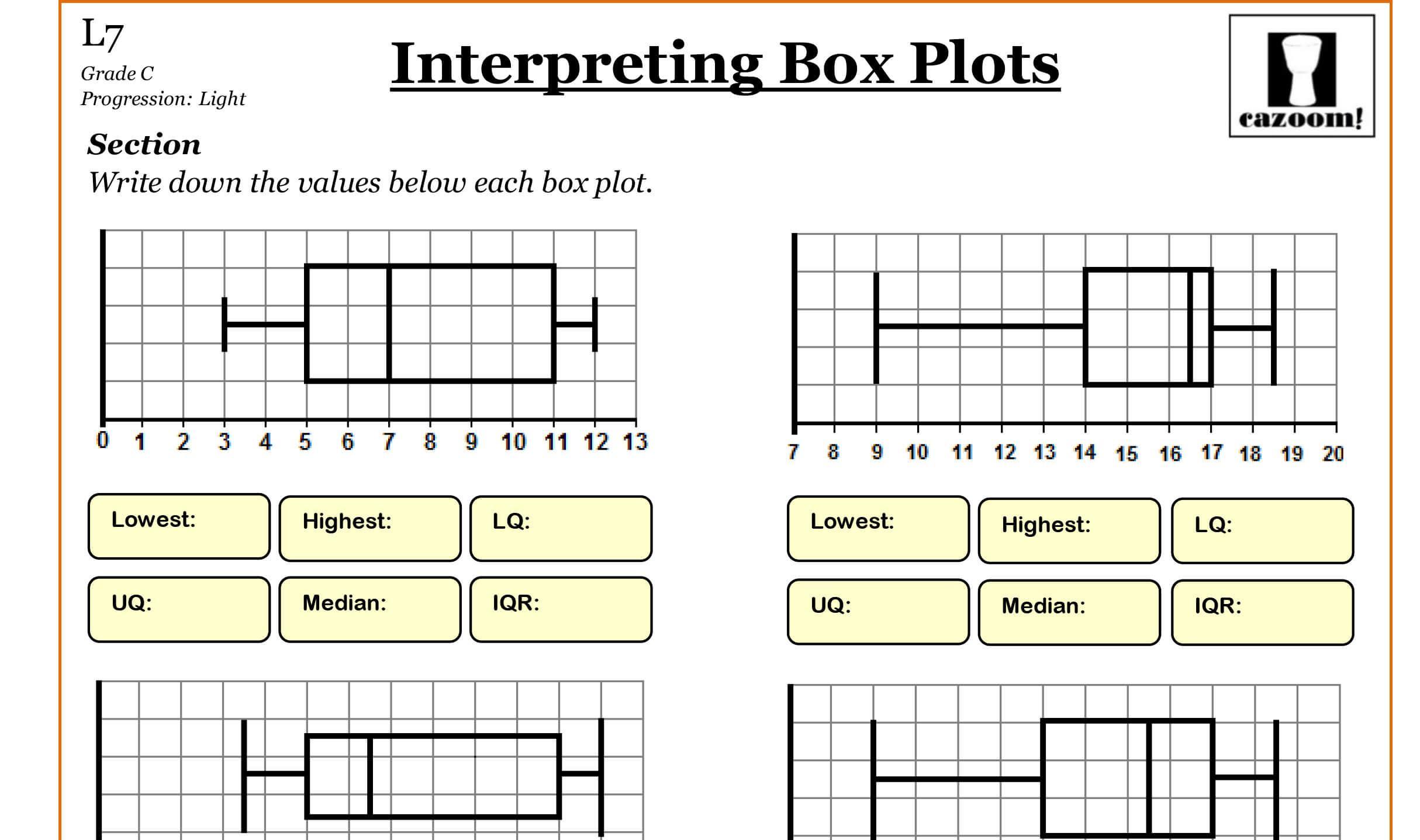 Math Worksheets High School 3