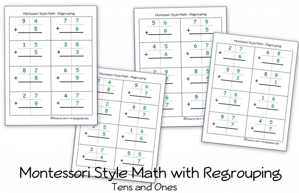 Math Worksheets Hundreds Tens Ones 1