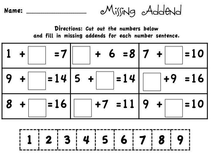 Math Worksheets In Word Document 4