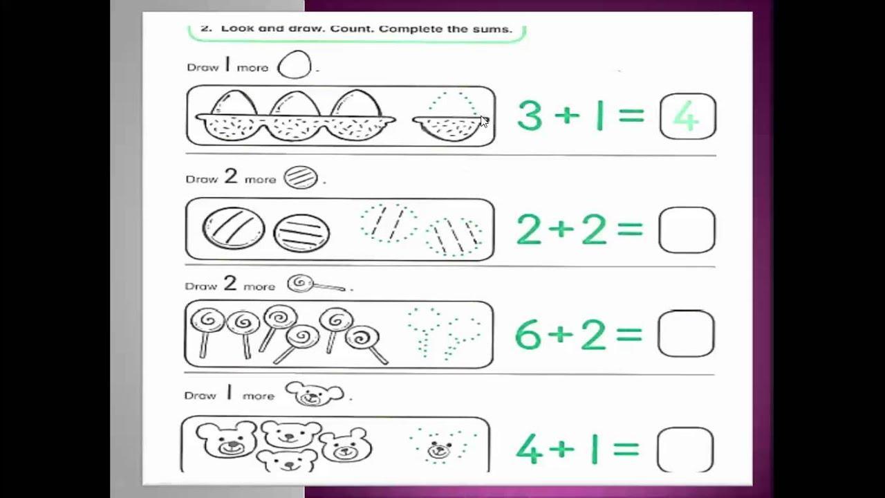 Math Worksheets Kg2