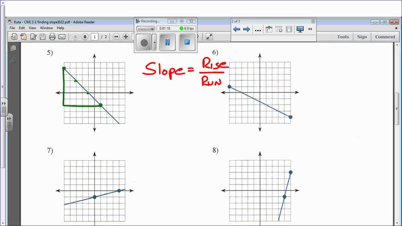 Math Worksheets Kuta 1