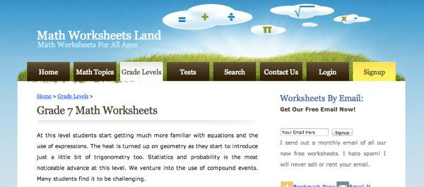Mathworksheetsland Area And Circumference