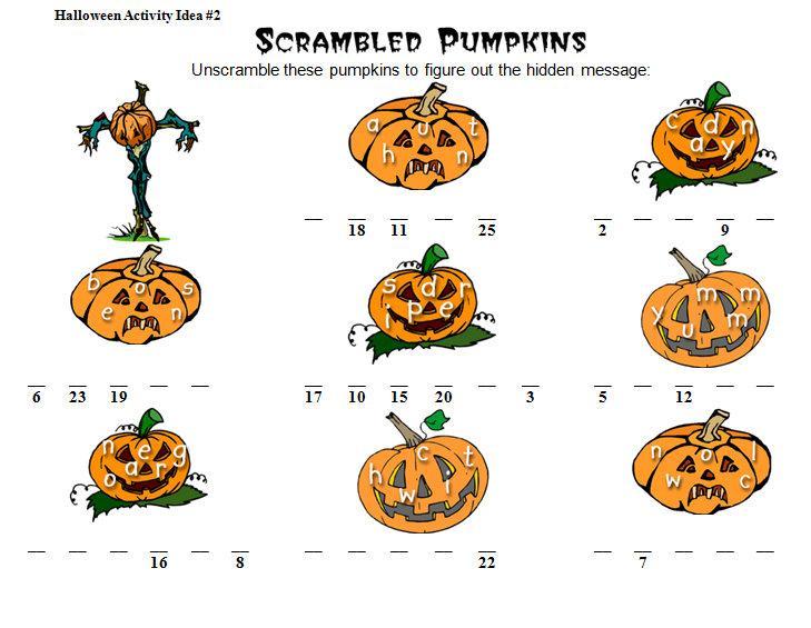 Preschool Math Worksheets Halloween