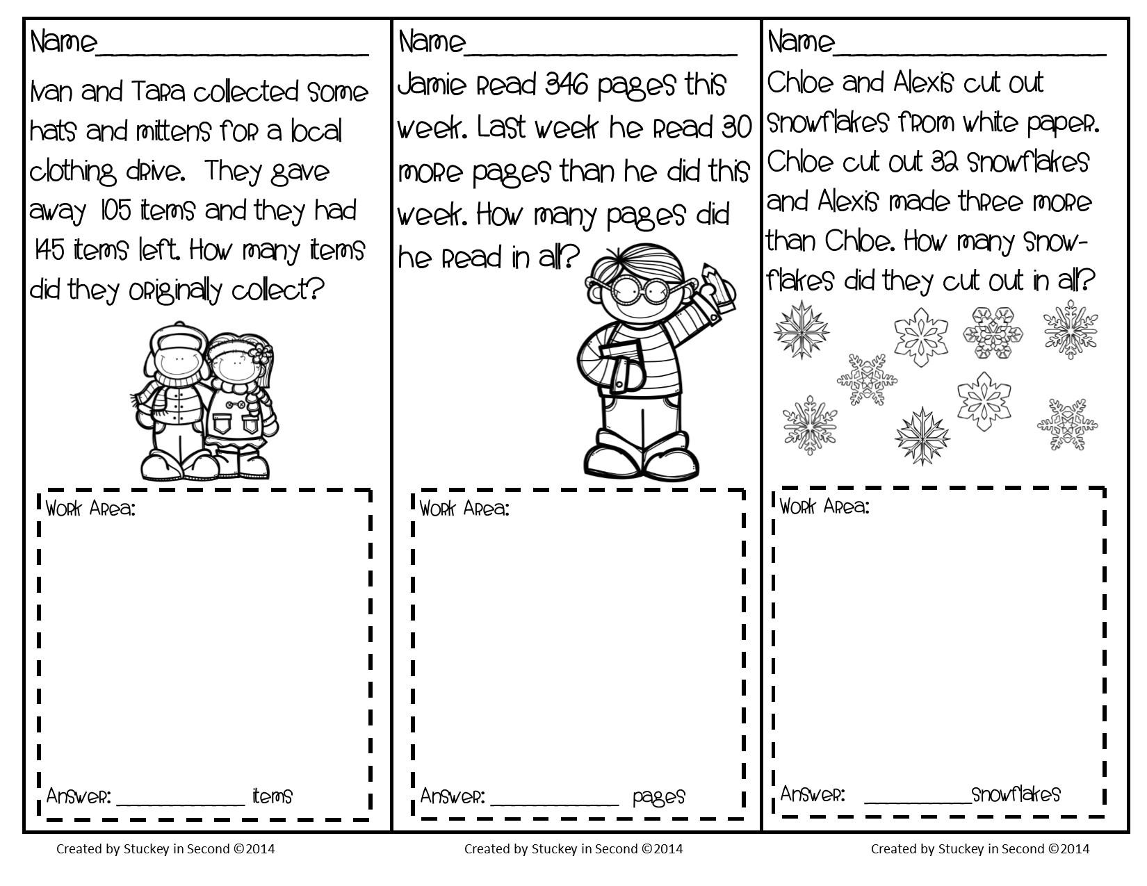 Math Worksheets Level 2 1