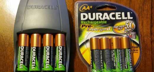 baterias recargables