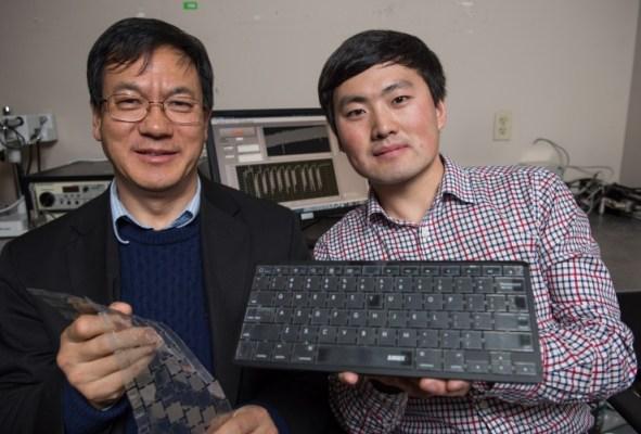 Um teclado que reconhece o dono