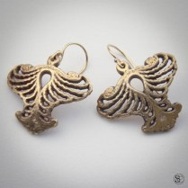 Bronze Earrings. Available soon from Steadcraft.com
