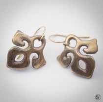 Bronze Earrings: Available soon at Steadcraft.com